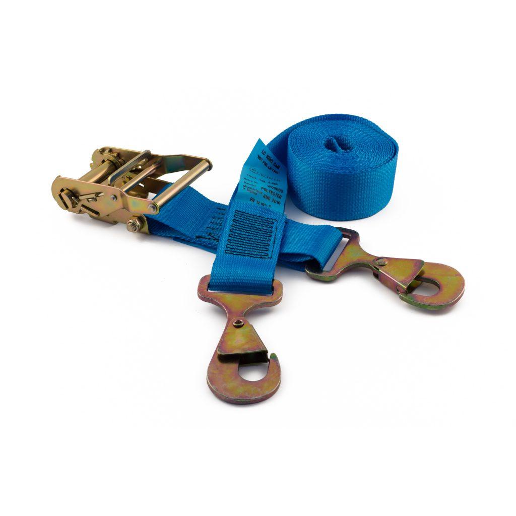 50mm ratchet straps with flat snap hooks rated to 2000kg gtf. Black Bedroom Furniture Sets. Home Design Ideas