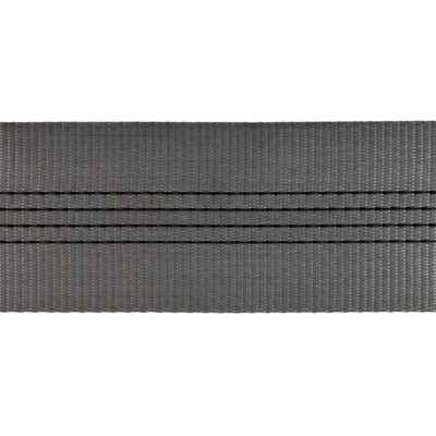 WB120185GY - 120mm 18500kgs Grey Polyester Webbing