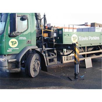 CPAD50 - Crane Pad on Travis Perkins Lorry